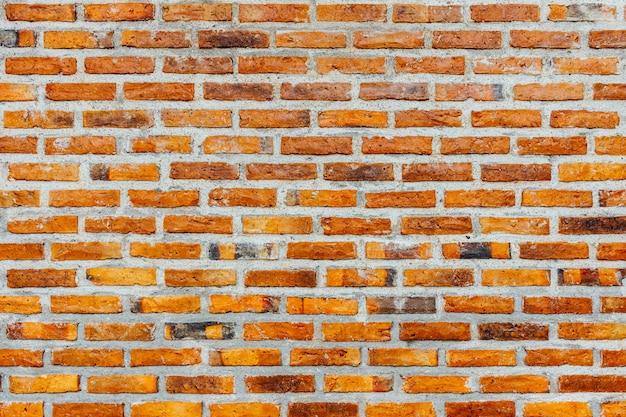 Vecchio fondo di struttura del muro di mattoni rossi del grunge retrò vintage