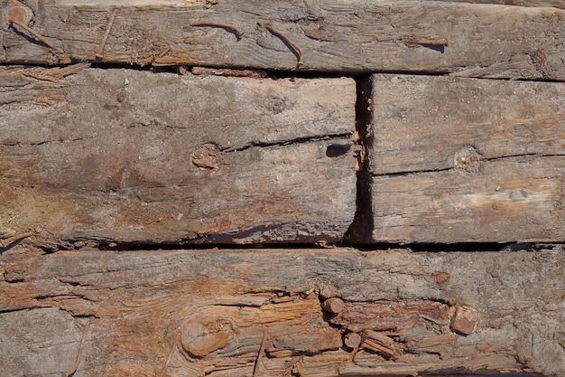 Vecchio sfondo vintage in legno
