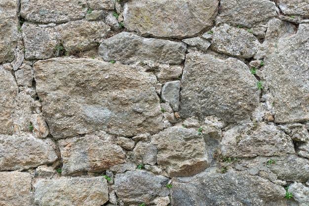 Vecchio muro di pietra vicino, sfondo, texture