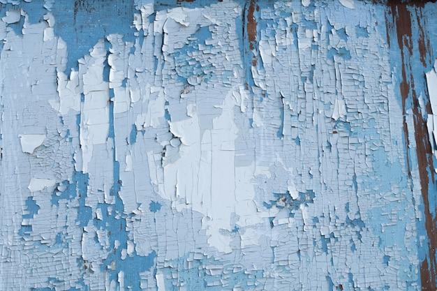 Vecchi pannelli di legno rustici stagionati di lerciume blu. tavole di legno invecchiato texture stock photography