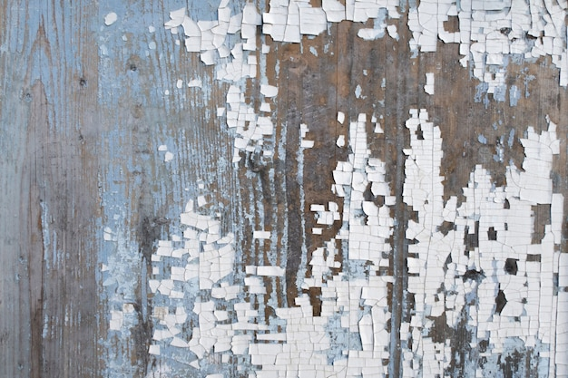 Vecchi pannelli di legno rustici stagionati di lerciume blu e bianco. tavole di legno invecchiato texture stock photography