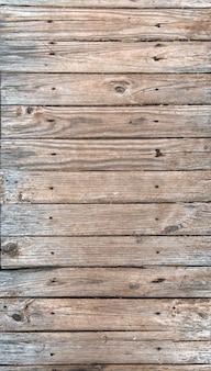 Vecchie tavole di legno stagionate