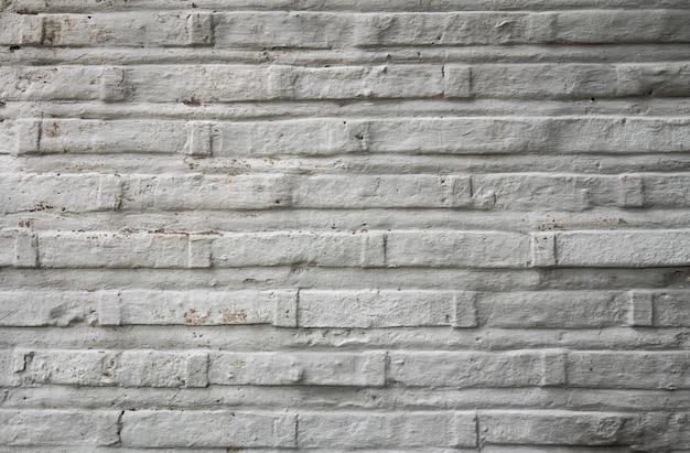 Vecchio muro di mattoni bianchi bruciati texture