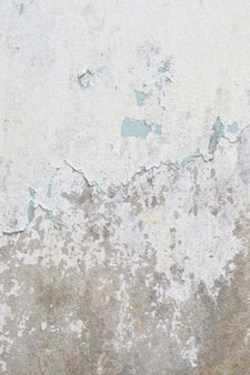 Vecchio fondo di struttura del muro di cemento bianco
