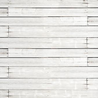 Vecchia struttura di legno bianca della priorità bassa della plancia. fondale quadrato