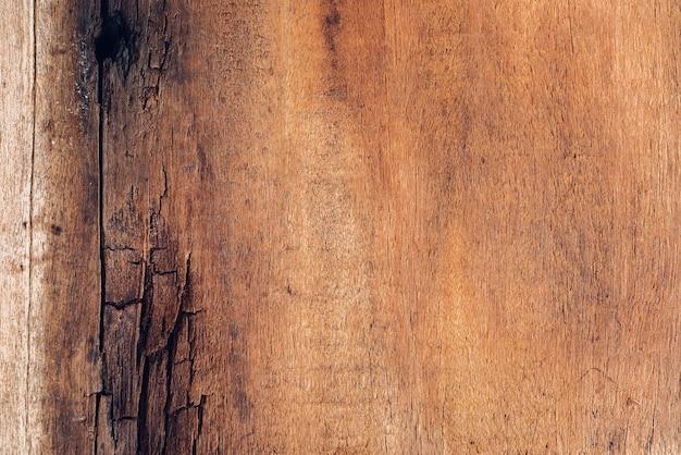 Vecchia tavola di legno copia spazio struttura in legno pattern di sfondo