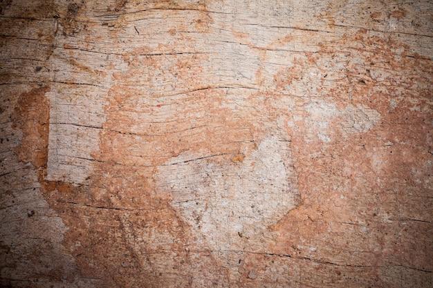 Vecchio legno incrinato e polvere texture di sfondo.