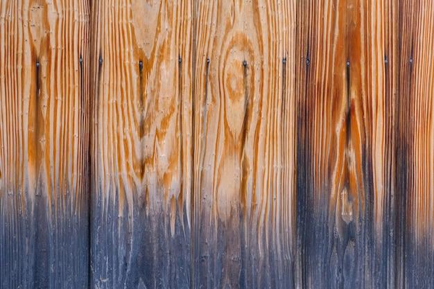 Vecchia priorità bassa di struttura della plancia di legno.