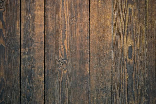 Vecchia priorità bassa della parete di legno