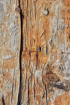 Vecchio fondo di tavola di legno