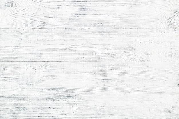 Vecchia struttura della plancia di legno. sfondo di legno shabby chic. tavolo bianco e grigio.