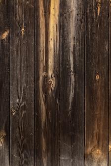 Vecchio fondo di struttura in legno