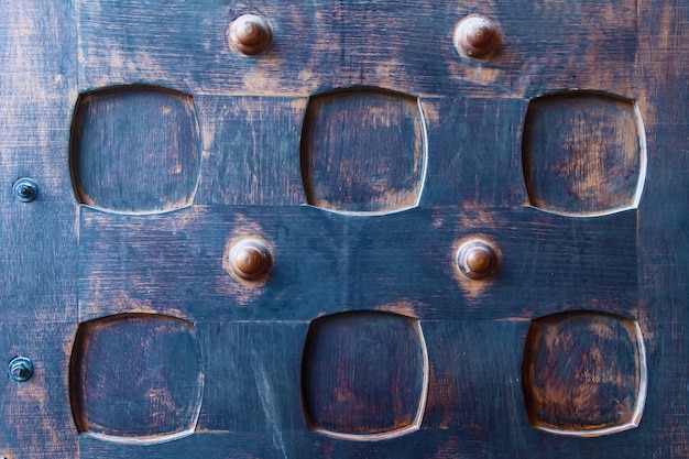 Vecchia struttura in legno, struttura in legno di vecchie porte