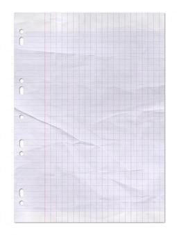 Vecchia trama usurata di carta a righe