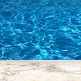 Sfondo di visualizzazione del prodotto della piscina olimpionica