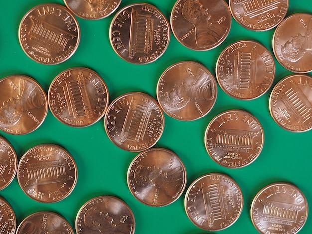 Monete da un centesimo di dollaro, stati uniti