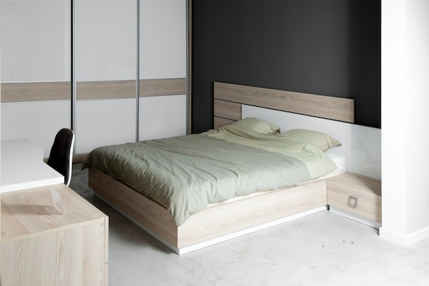 Un letto king size per il riposo dopo una lunga giornata