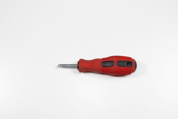Un cacciavite standard con punta per armadietto, utensile manuale efficiente e dal design ergonomico per girare le viti di guida