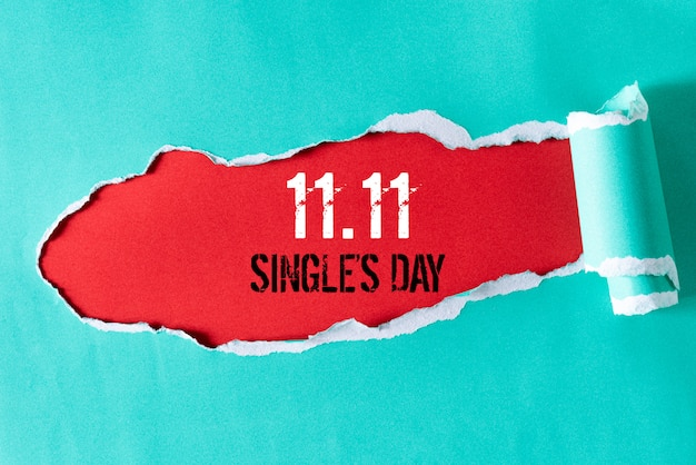 Shopping online in cina, vendita 11.11 single day.