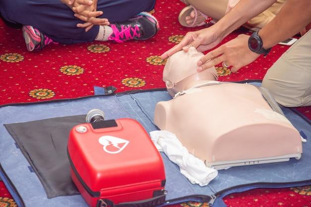 Corso di formazione sulle vie respiratorie aperte cpr e aed