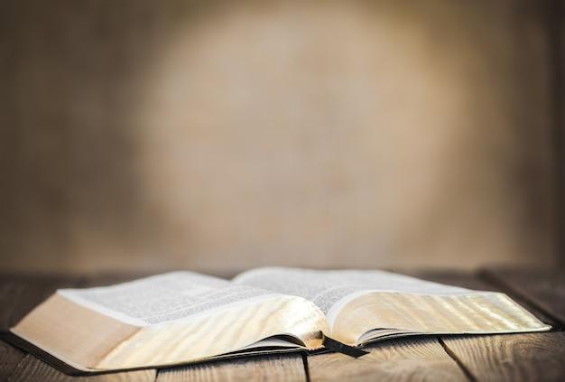 Libro aperto isolato su sfondo