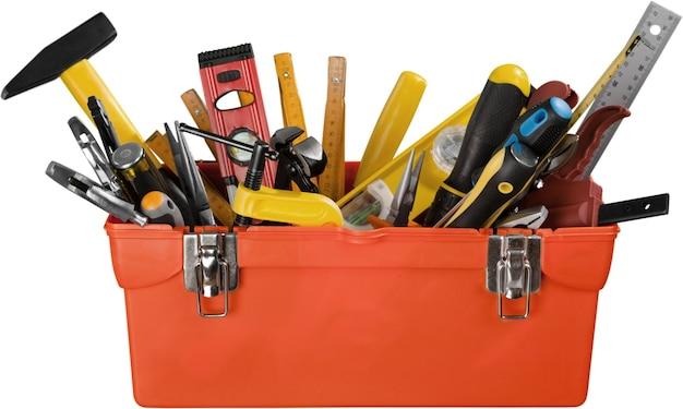 Apri cassetta degli attrezzi - isolato