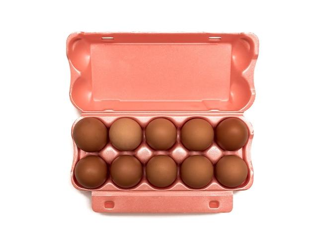 Confezione aperta per uova