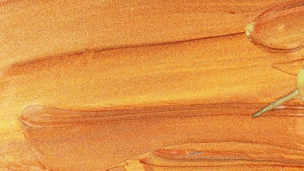 Sfondo marrone arancione con macchie scintillanti. struttura astratta della pittura