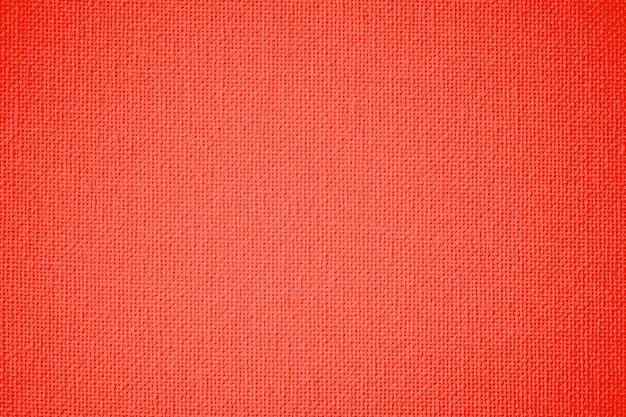 Trama di tela di colore arancione