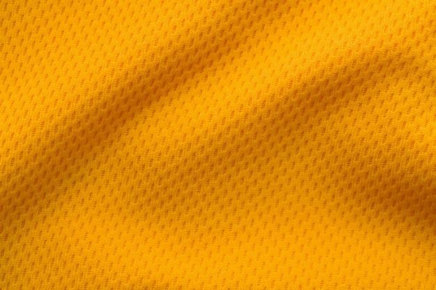 Colore arancione abbigliamento sportivo tessuto jersey maglia da calcio texture