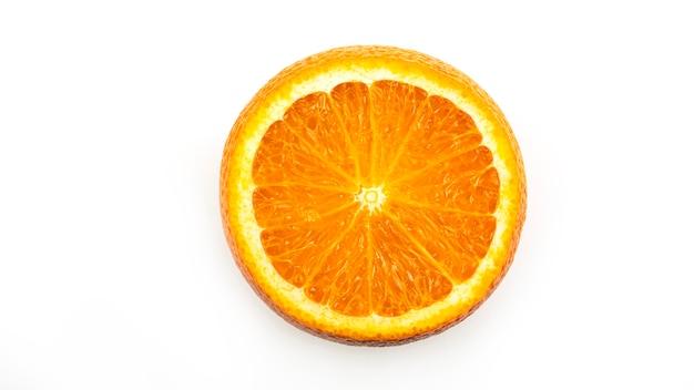 Arancia. vista dall'alto.