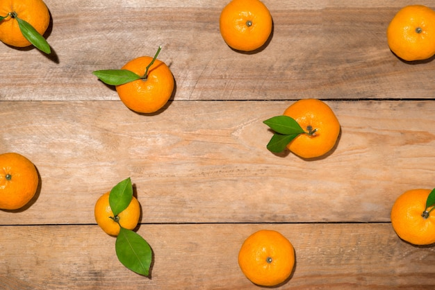 Arancione per il capodanno cinese lunare. tet concetto di vacanza.