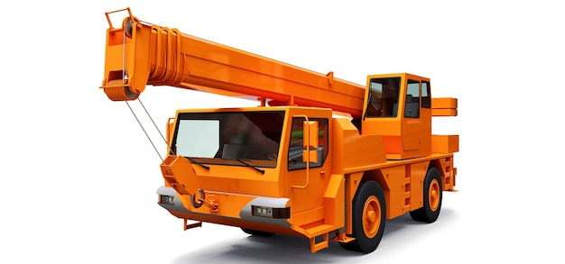 Gru mobile arancione