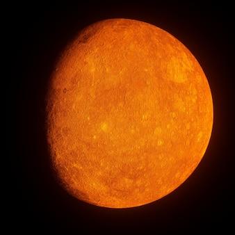 Pianeta arancione Foto Premium