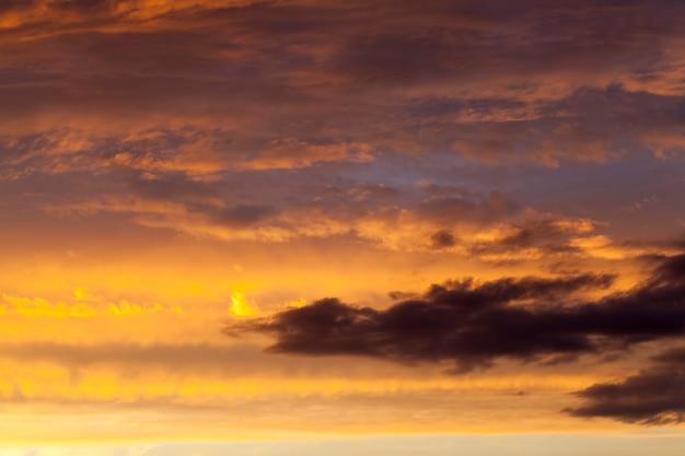 Cielo arancione