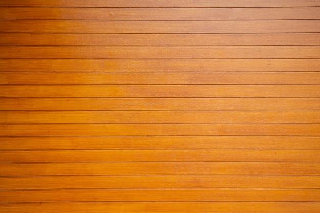 Sfondo di legno muro arancione