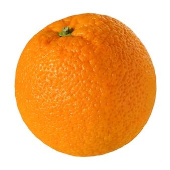 Arancio su sfondo bianco isolato. frutta.
