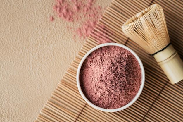 Tè in polvere colorante biologico matcha