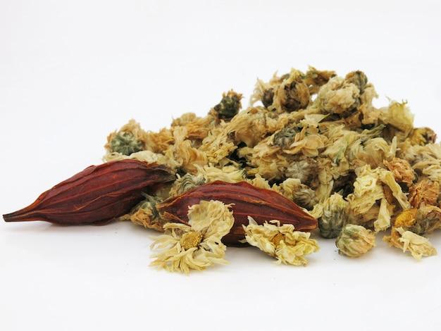 Tè di fiori secchi di crisantemo organico