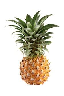 Frutta biologica isolata su bianco
