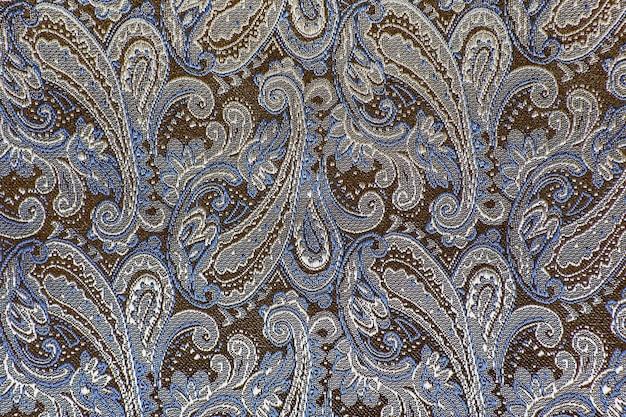 Oriental o paisley, cetriolo turco, lacrima di allah, beanbuta indiano o turco, texture di sfondo ornamento cipresso persiano