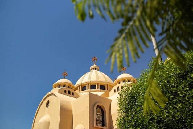 Chiesa ortodossa a sharm el sheikh, egitto