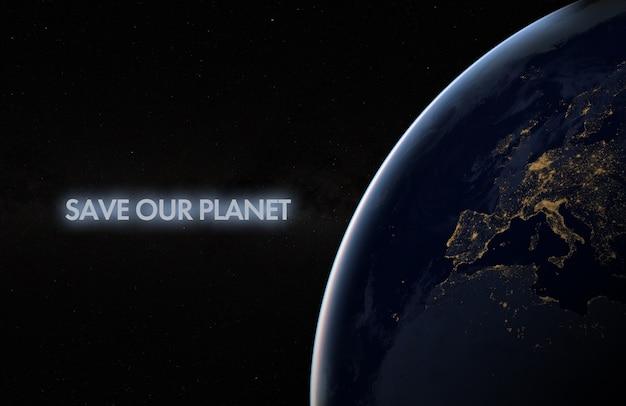 Il nostro pianeta è il titolo del nostro testo di casa nello spazio.