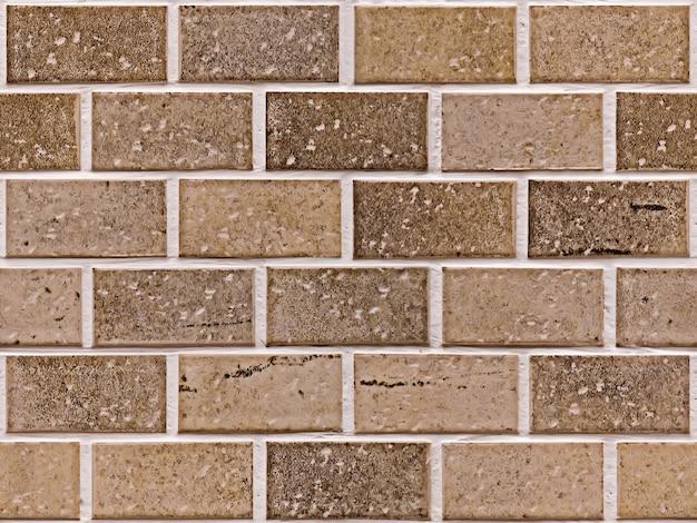 Priorità bassa della struttura di brickwall dell'annata all'aperto. superficie rettangolare della parete di pietra sgangherata. vecchia struttura quadrata del muro di mattoni marrone rosso. elemento di design squallido per interni in stile vintage moderno.