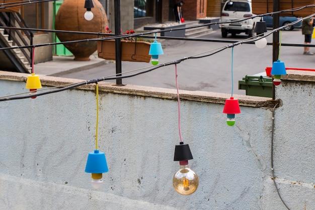 Lampadina da giardino per esterni, colorata