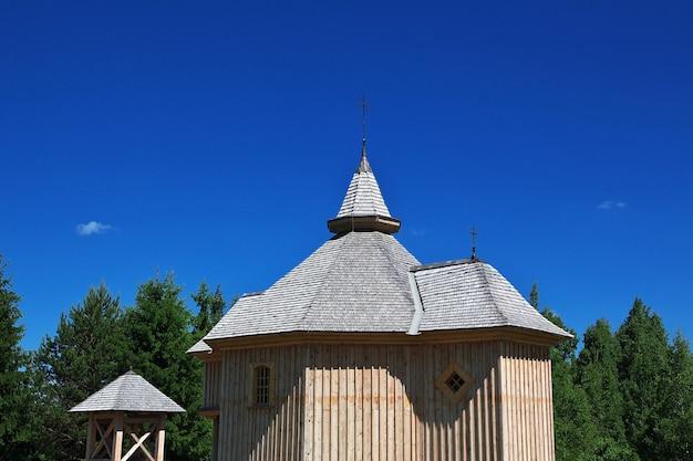 Villaggio ozertso nel paese della bielorussia