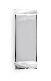 Confezione di plastica lucida per alimenti o snack