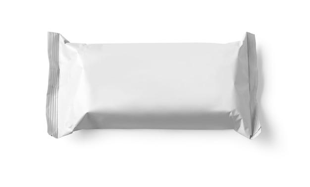 Pacchetto isolato su sfondo bianco
