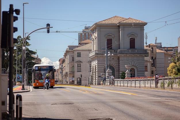 Padova, italia 17 luglio 2020: padova street view