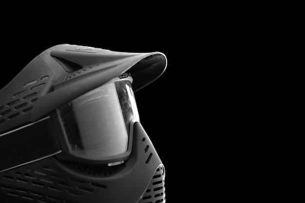 Maschera di equipaggiamento protettivo per sport estremi paintball